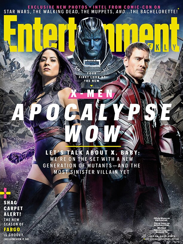 X Men Apocalypse First Look At The New Generation In Ew Ew Com