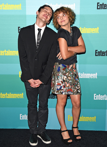 Robin Lord Taylor and Camren Bicondova
