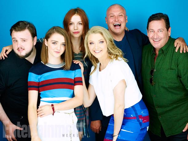 John Bradley, Maisie Williams, Hannah Murray, Natalie Dormer, Conleth Hill, David Nutter, 'Game of Thrones'