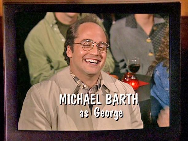 "Jeremy Piven as ""Michael Barth (George)"": Season 4, episode 23, ""The Pilot"""