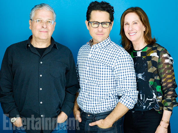 Lawrence Kasdan, J.J. Abrams, Kathleen Kennedy, 'Star Wars: The Force Awakens'