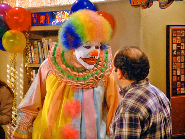 "Jon Favreau as ""Eric the Clown"": Season 5, episode 19, ""The Fire"""