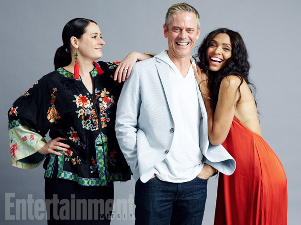 Paget Brewster, C. Thomas Howell, Tamara Taylor, 'Justice League: Gods & Monsters'