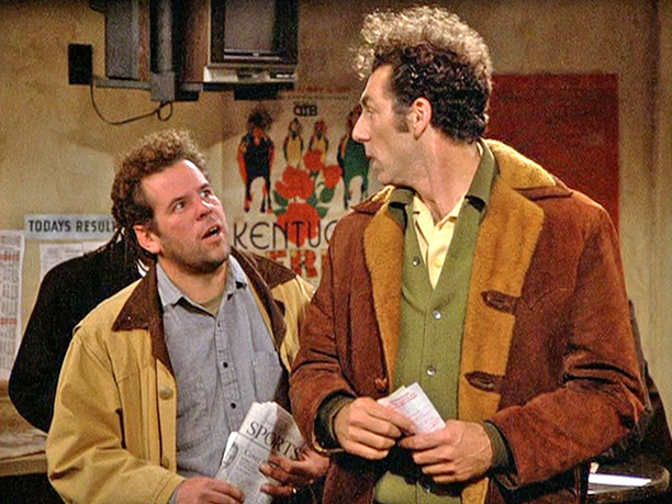 "Mark Boone Junior as ""OTB Patron"" in season 3, episode 13, ""The Subway"""