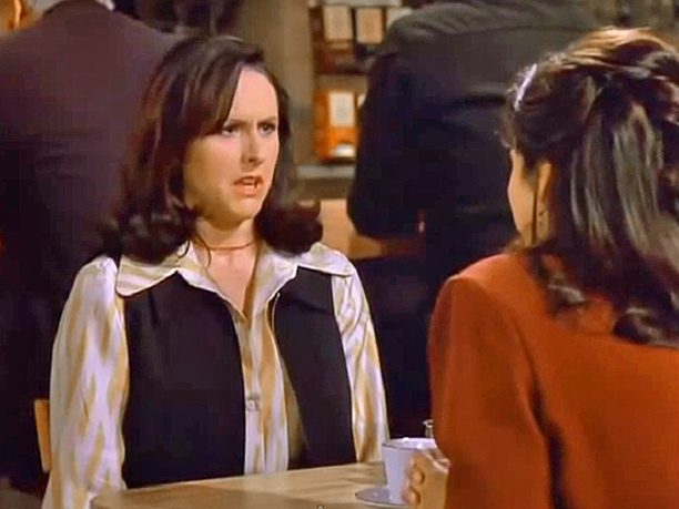 """Molly Shannon as """"Sam"""": Season 8, episode 22, """"The Summer of George"""""""