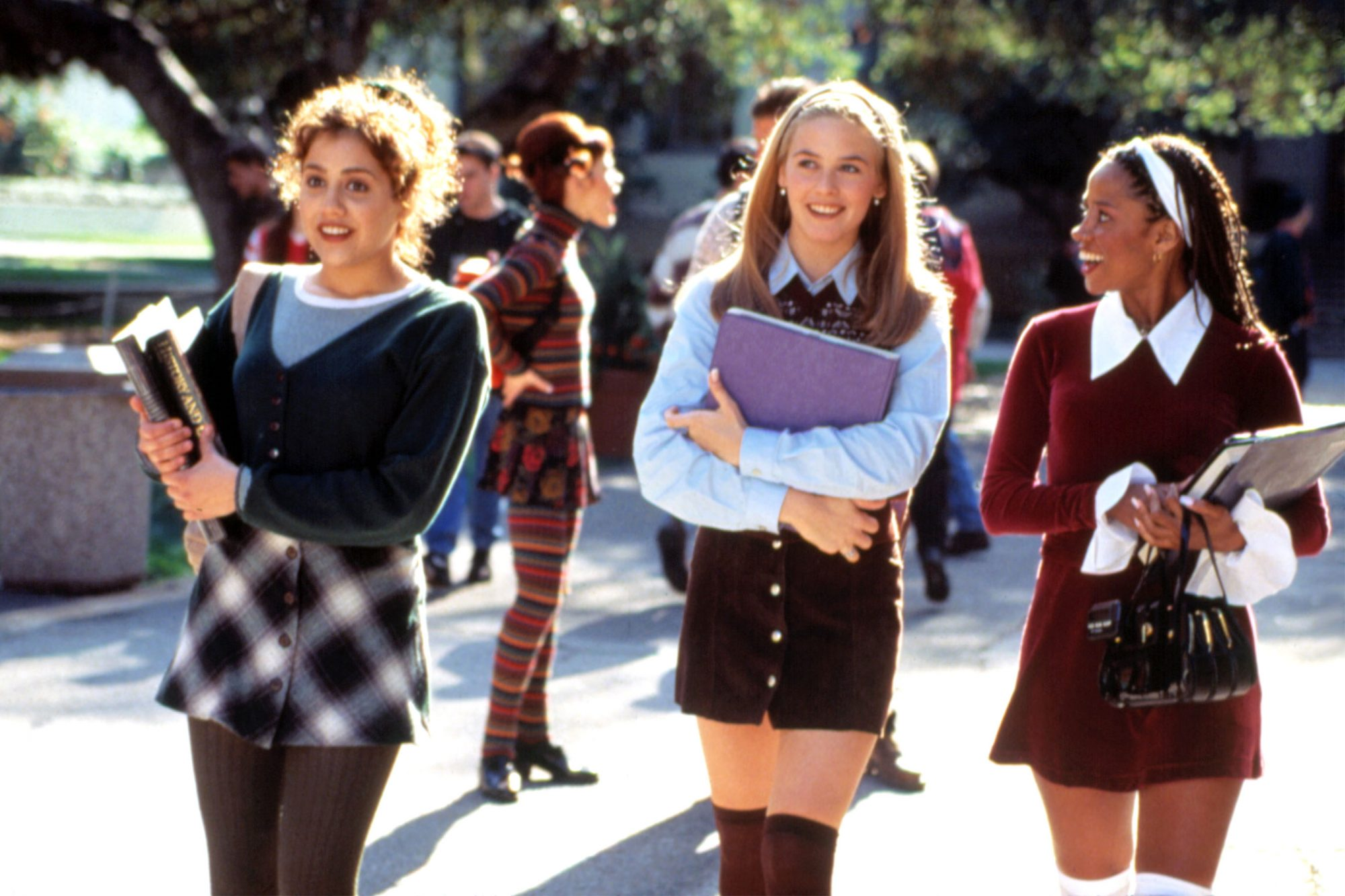 CLUELESS, Brittany Murphy, Alicia Silverstone, Stacey Dash, 1995