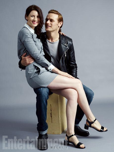 Caitriona Balfe and Sam Heughan, 'Outlander'