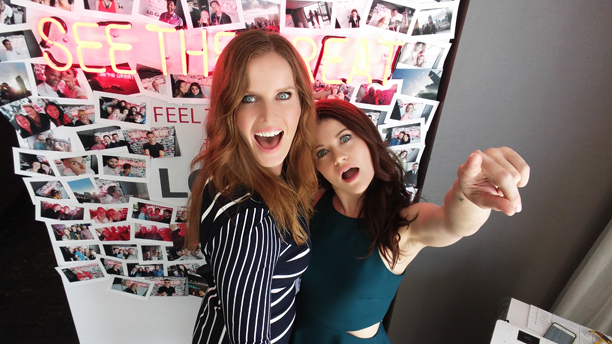 Rebecca Mader and Emilie de Ravin, 'Once Upon a Time'