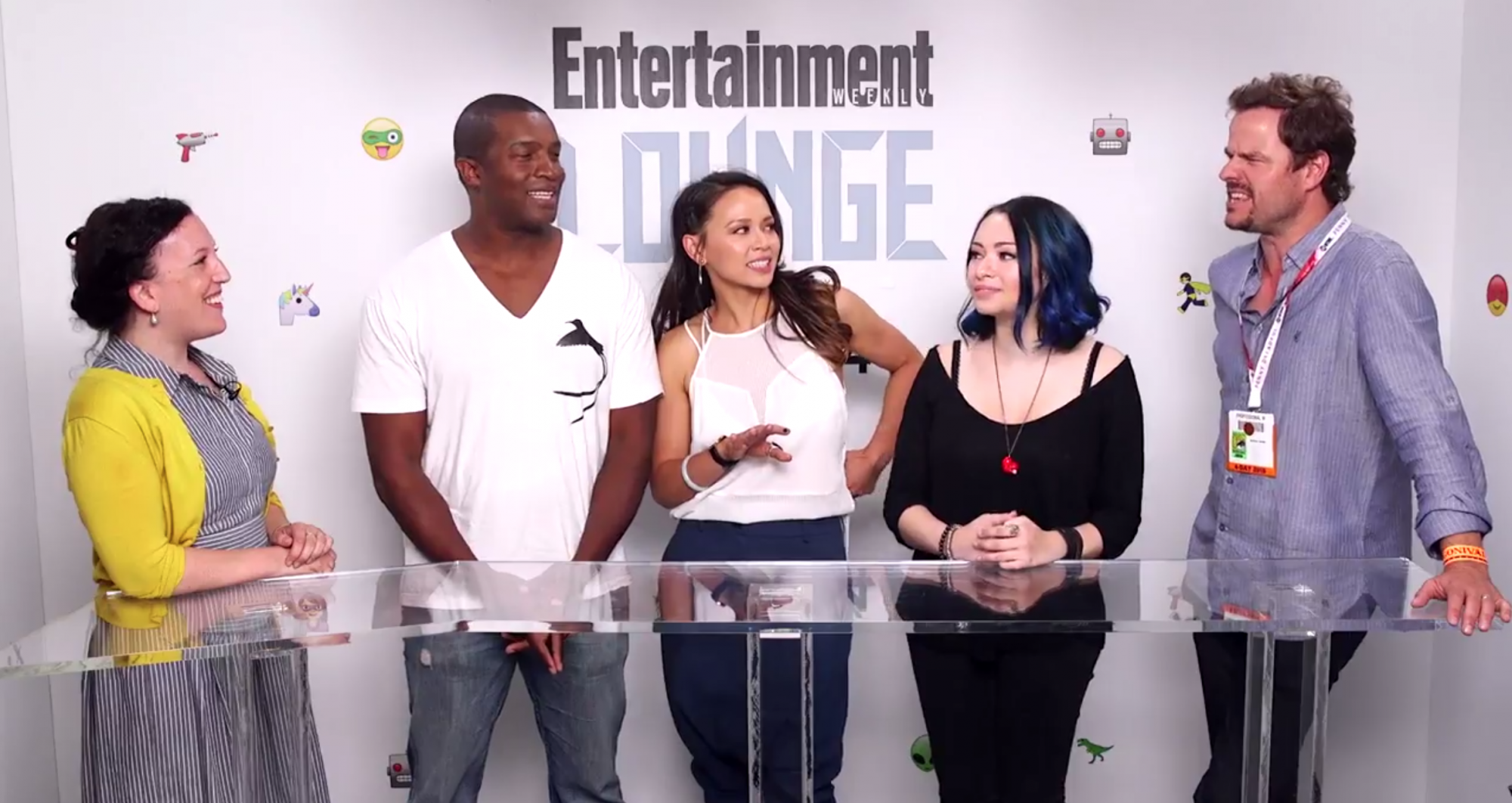 'Dark Matter' cast at the Entertainment Weekly Lounge at Comic-Con