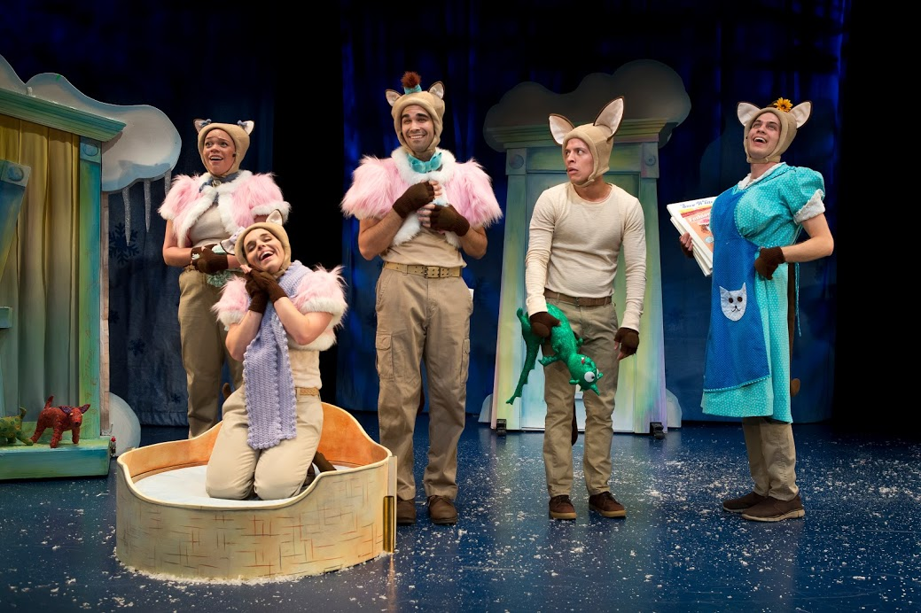 "The ensemble of ""Skippyjon Jones Snow What (& the 7 Chihuahuas)"""