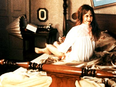 Linda Blair, The Exorcist | CHILD'S PLAY Her body seemingly decomposing before our eyes, the demon-possessed Regan viciously taunts her mother (Ellen Burstyn) and the neurologists, psychiatrists, and priests trying…