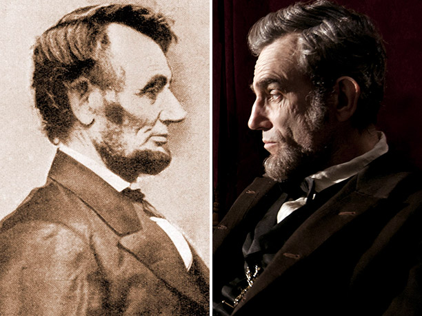 BEST: Abraham Lincoln, portrayed by Daniel Day-Lewis in Lincoln