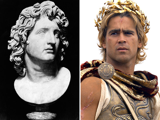 WORST: Alexander the Great, portrayed by Colin Farrell in Alexander