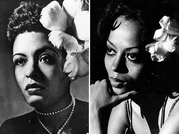 WORST: Billie Holiday, portrayed by Diana Ross in Lady Sings the Blues