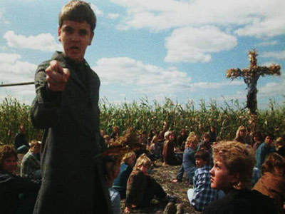 Children of the Corn II: The Final Sacrifice   CHILD'S PLAY As the boy preacher turned cult leader, Isaac's ability to sic a town full of children on any adults is terrifying. CHILLING (AND…