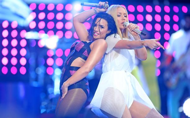 "Demi Lovato and Iggy Azalea, ""Cool For The Summer"""