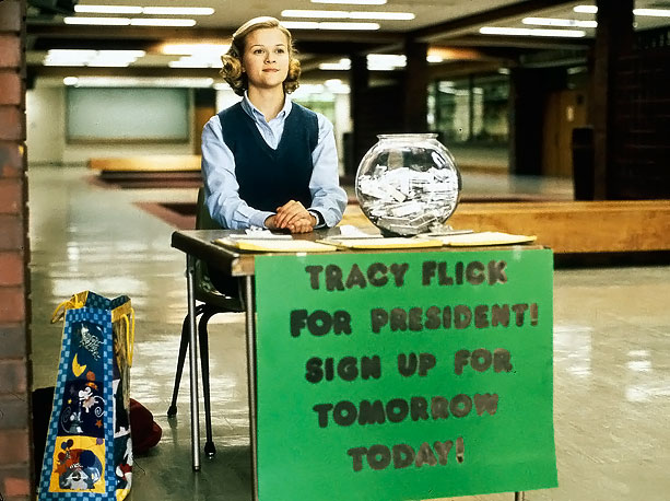Before taking on geezers ( About Schmidt ) and oenophiles ( Sideways ), director Alexander Payne in Election scabrously exposed the most embarrassing shortcomings of…