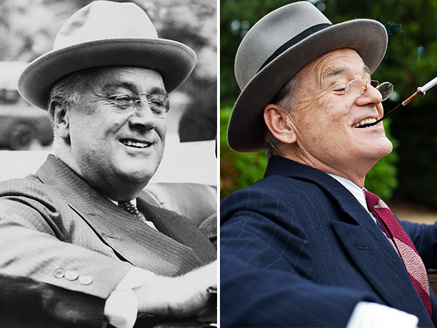 WORST: Franklin Delano Roosevelt, portrayed by Bill Murray in Hyde Park on Hudson