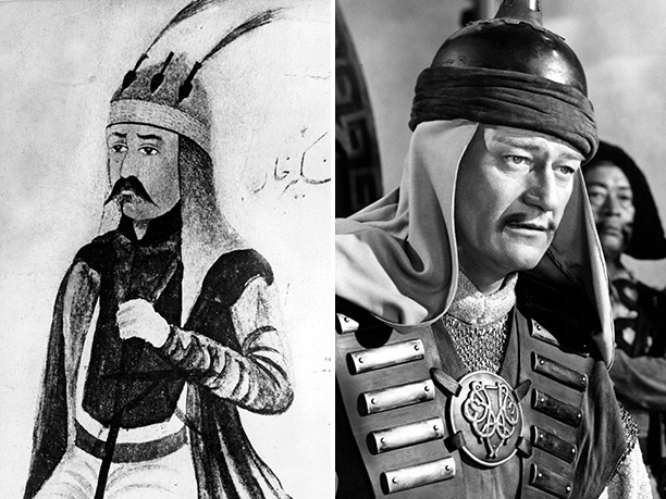 WORST: Genghis Khan, portrayed by John Wayne in The Conqueror