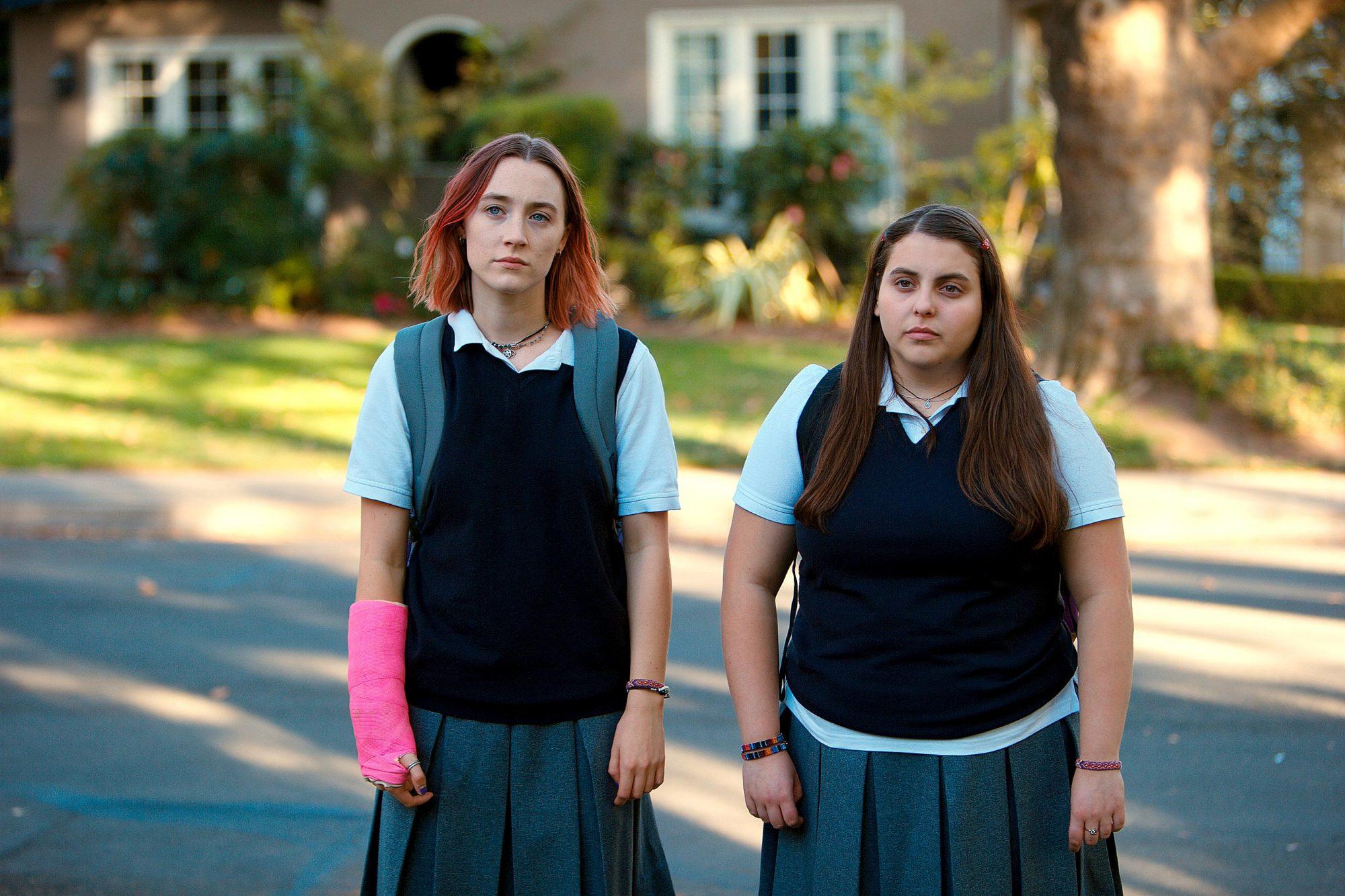 Lady BirdSaoirse Ronan and Beanie Feldstein