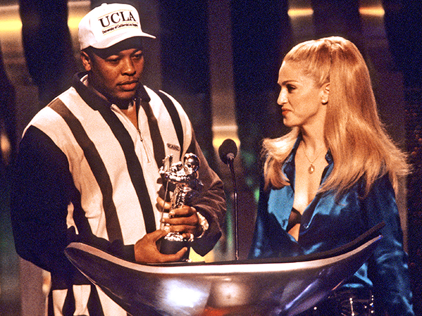 Dr. Dre and Madonna