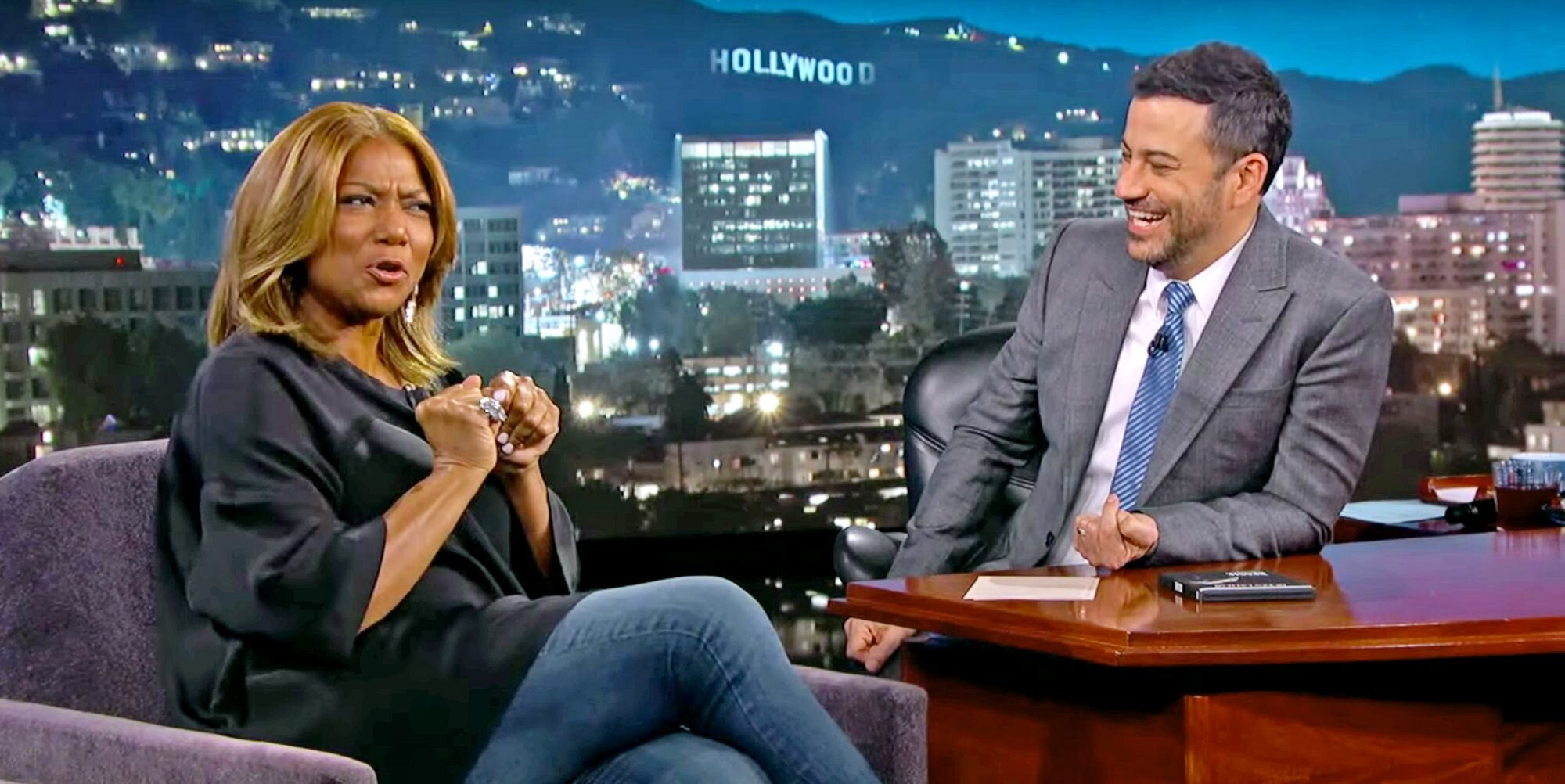 Queen Latifah Chris Martin Paid 100 000 So She Could Have Alicia Keys Piano Ew Com