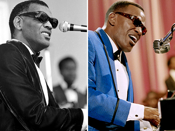 BEST: Ray Charles, portrayed by Jamie Foxx in Ray