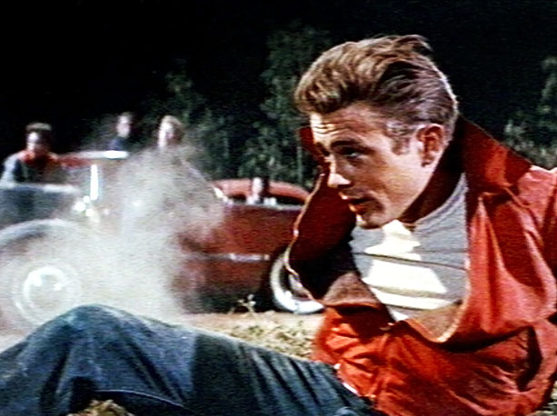 ''You're tearing me apart,'' Jim Stark (James Dean) howls at his parents. For the new kid in school, it doesn't get any easier. Though he…