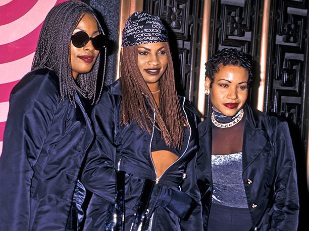 Cheryl Salt James, Sandra Pepa Denton and Deidra Roper of Salt N Pepa