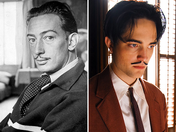 WORST: Salvador Dalí, portrayed by Robert Pattinson in Little Ashes