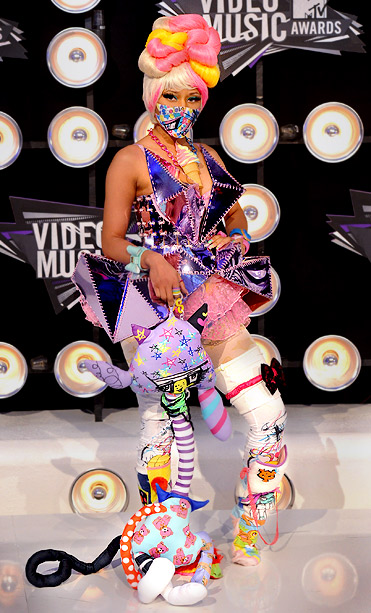 MTV Video Music Awards | No, Nicki Minaj was not kidnapped by a Japanese anime gang, but her 2011 wardrobe was inspired by the cosplay culture. The performer wore an…