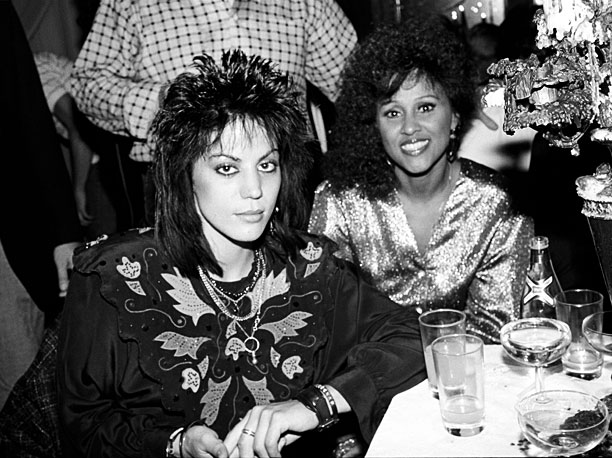 Joan Jett and Darlene Love were stars of the 1985 after-party at New York's Palladium.