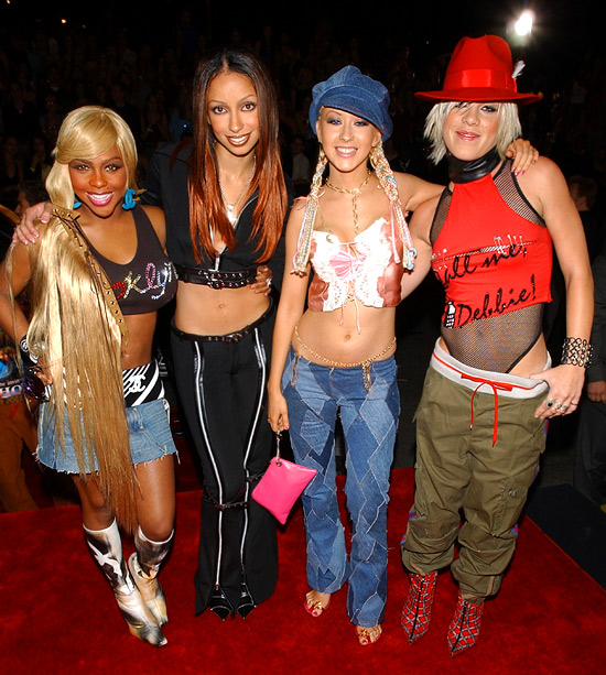 MTV Video Music Awards | The ladies took home the 2001 Video of the Year award for ''Lady Marmalade,'' but they didn't earn any style points. Luckily, their harmonies were…