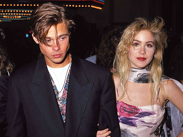 Remember when Brad Pitt and Christina Applegate dated during the 1989 VMAs? Good times.