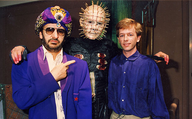 "Ringo Starr, Pinhead of ""Hellraiser,"" and David Spade are very relevant in 1992."