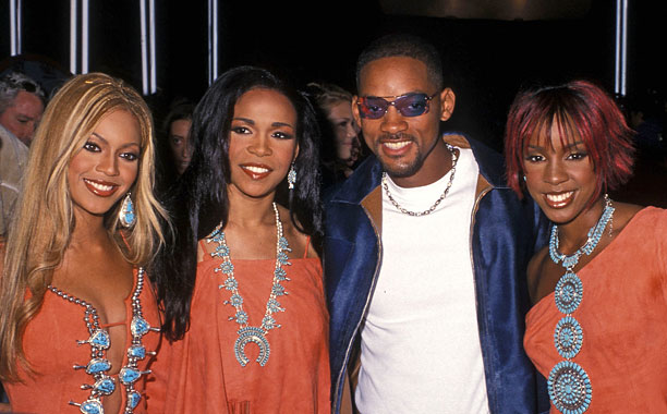 Will Smith wished he were part of Destiny's Child at the 2001 VMAs.