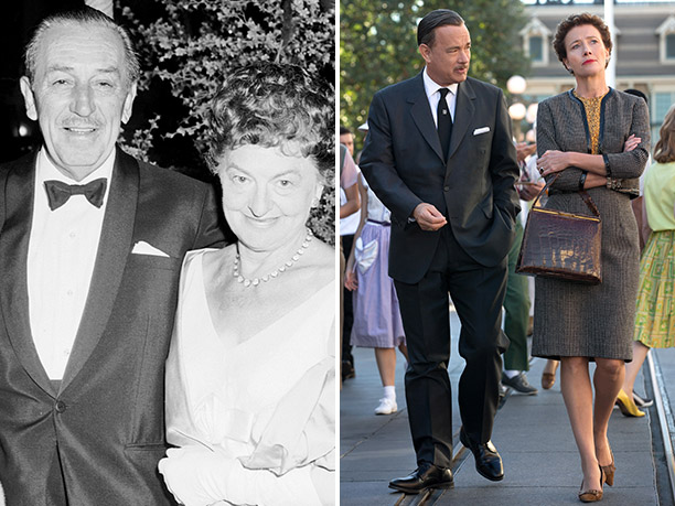 WORST: Walt Disney and P.L. Travers, portrayed by Tom Hanks and Emma Thompson in Saving Mr. Banks