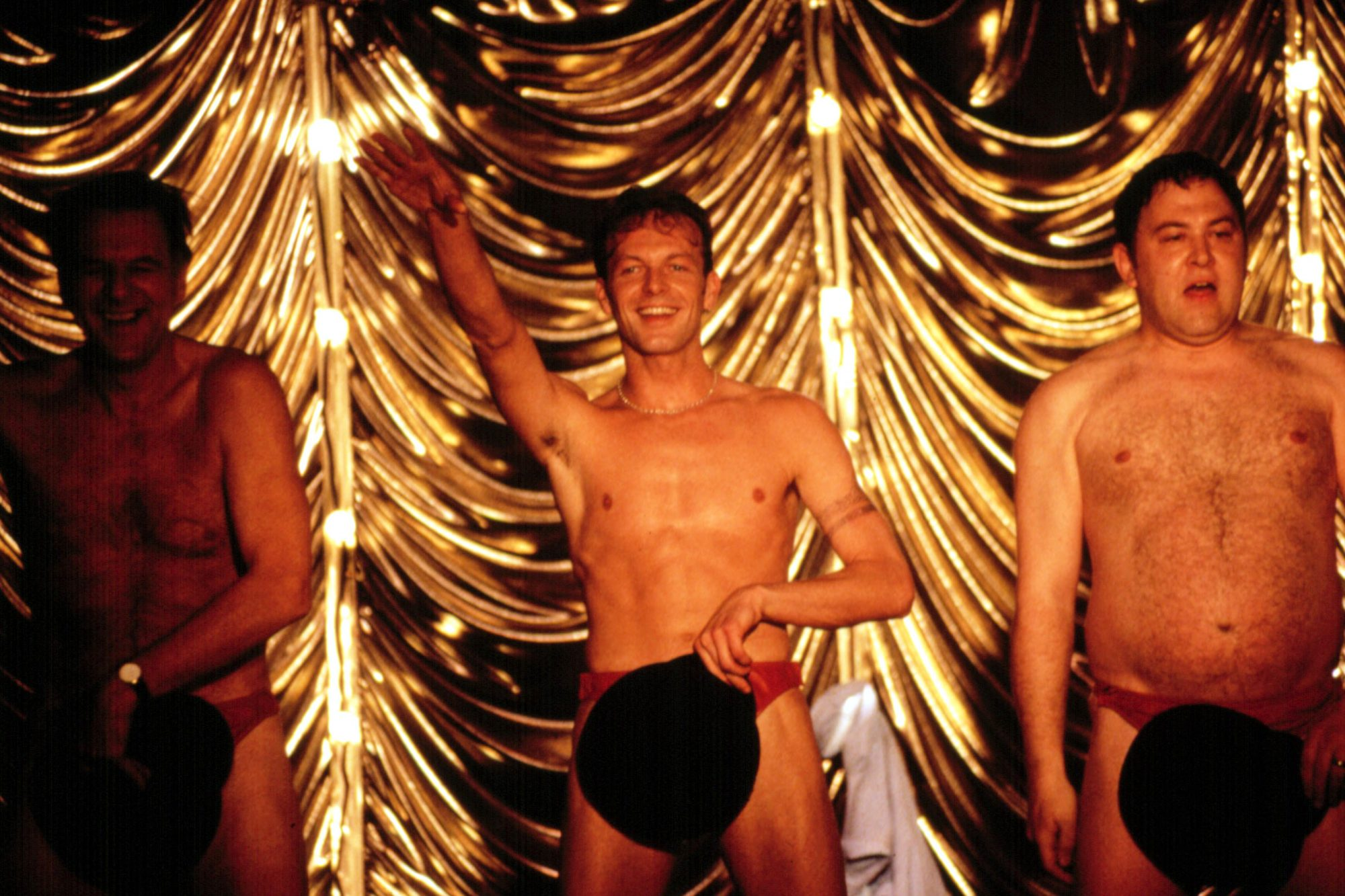 FULL MONTY, Steve Huison, Mark Addy, 1997, TM & Copyright (c) 20th Century Fox Film Corp. All rights