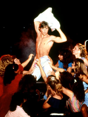 Christopher Atkins | A Night in Heaven (1983) Whoa! Go easy on him, ladies — he's just an impressionable college student. Besides, Mrs. Hanlon, his hot-to-trot professor, already…