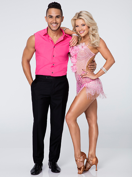 Carlos PenaVega and Witney Carson