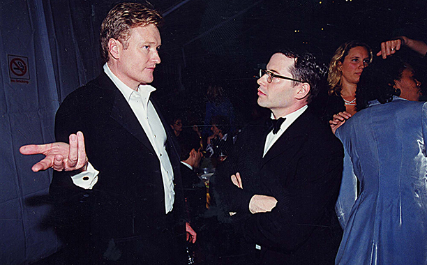 Conan O'Brien and Matthew Broderick became friendly at the 51st Annual Primetime Emmys