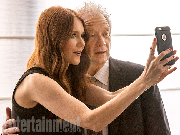 Darby Stanchfield and Jeff Perry