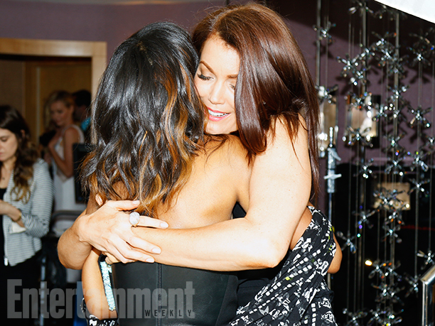 Kerry Washington and Bellamy Young