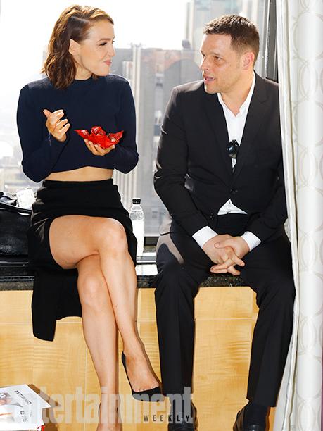 Camilla Luddington and Justin Chambers
