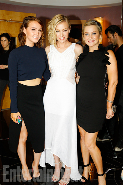 Camilla Luddington, Portia De Rossi, and Jessica Capshaw