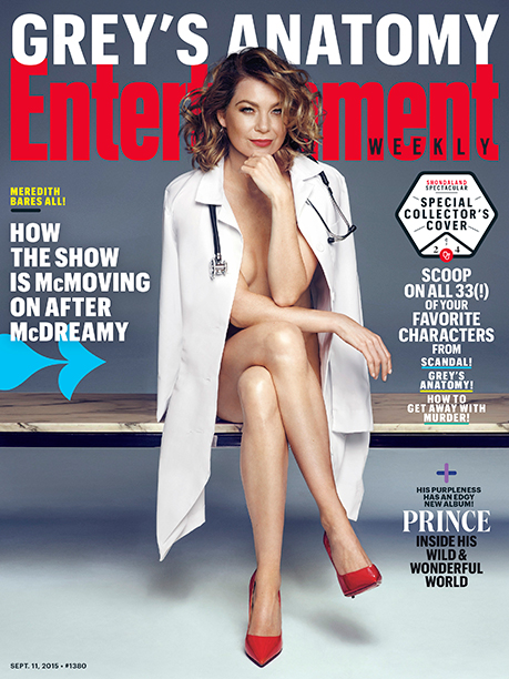 Ellen Pompeo on the Cover of EW