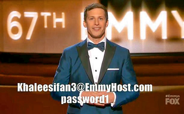 WORST: The HBO Now ad, with Andy Samberg's login info