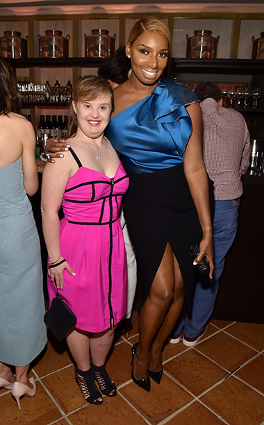 Jamie Brewer and NeNe Leakes