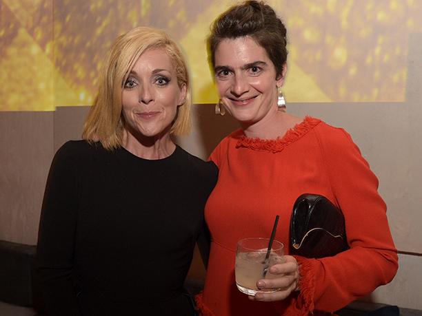 Jane Krakowski and Gaby Hoffmann