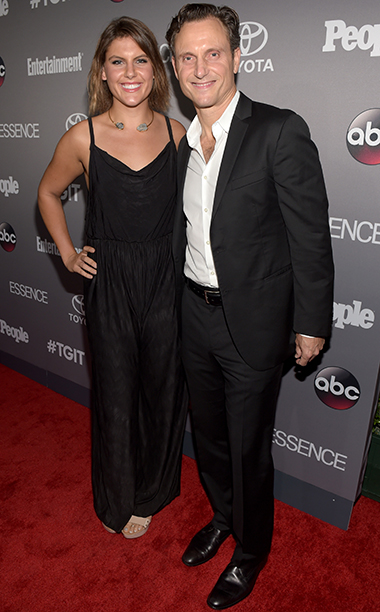 Jane Musky and Tony Goldwyn